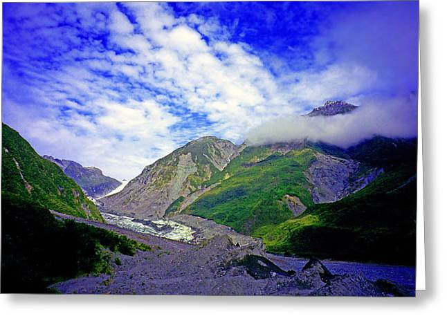 Kevin Smith Greeting Cards - Fox Glacier Greeting Card by Kevin Smith