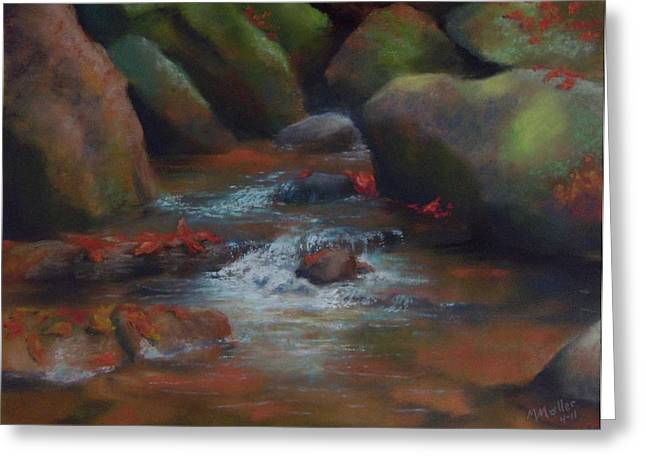 Rapids Pastels Greeting Cards - Fragments of Fall Greeting Card by Marcus Moller