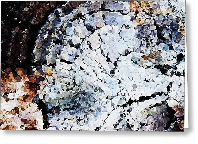Abstract Digital Paintings Greeting Cards - Fragments Greeting Card by Wagner Povoa