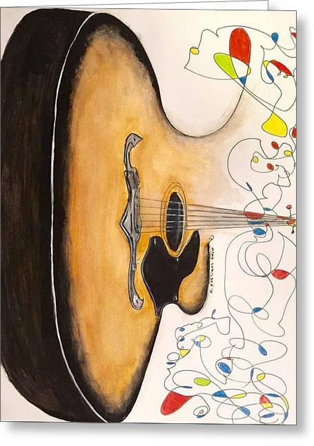 Framus Greeting Card by Cris Qualiana
