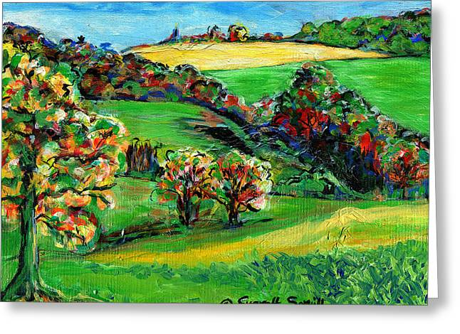 Francais Campagne Greeting Card by Everett Spruill