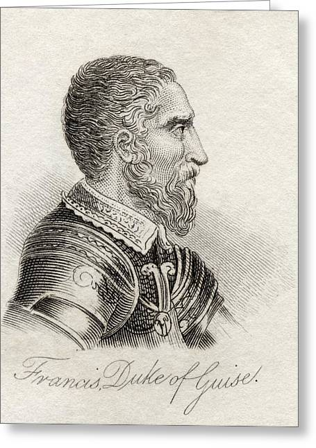 Guise Greeting Cards - Francis Ii Prince Of Joinville Duke Of Greeting Card by Ken Welsh