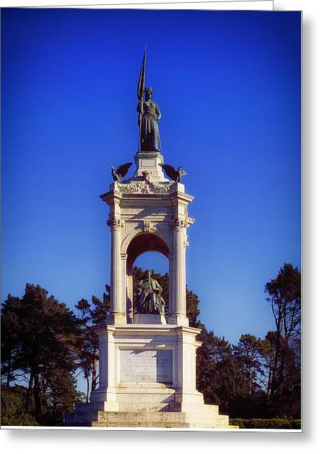 Francis Scott Key Monument - San Francisco Greeting Card by Mountain Dreams