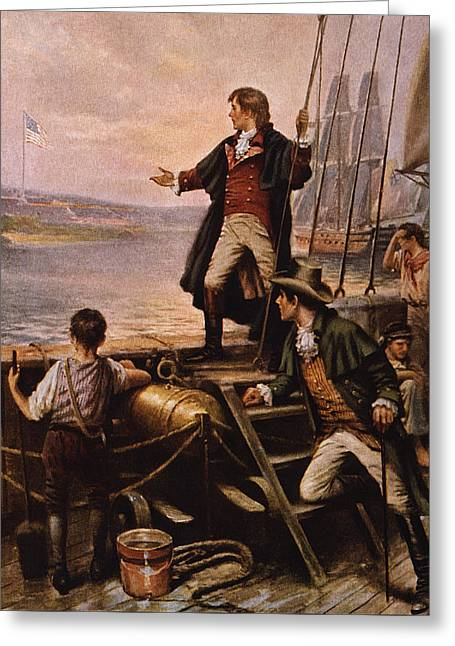 Francis Scott Key - Star Spangled Banner Greeting Card by War Is Hell Store