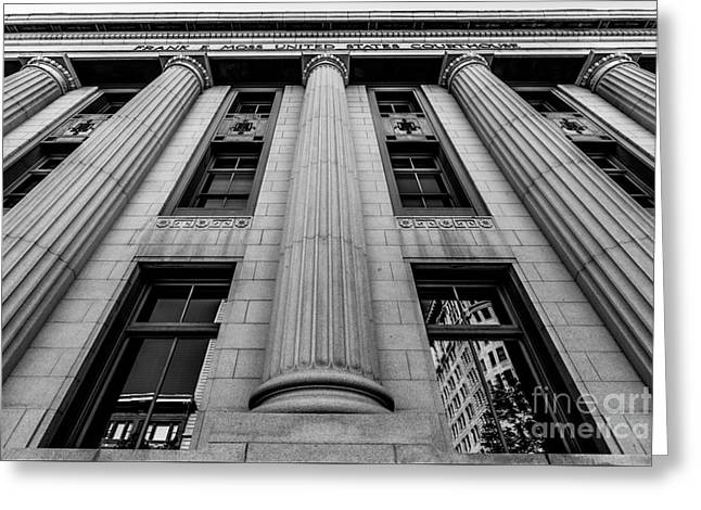 Frank E. Moss Federal Courthouse - Utah Greeting Card by Gary Whitton