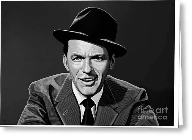 Frank Sinatra Greeting Card by Meijering Manupix