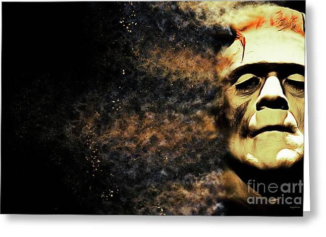 Goodbye Cruel World Love Frankenstein 20161101 Greeting Card by Wingsdomain Art and Photography