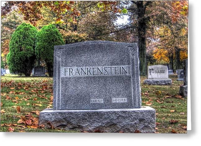 Hdr Landscape Greeting Cards - Frankenstein Greeting Card by Jane Linders