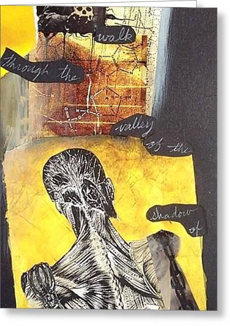 Frankensteins Monster Greeting Cards - Frankenstein Greeting Card by Xoey HAWK