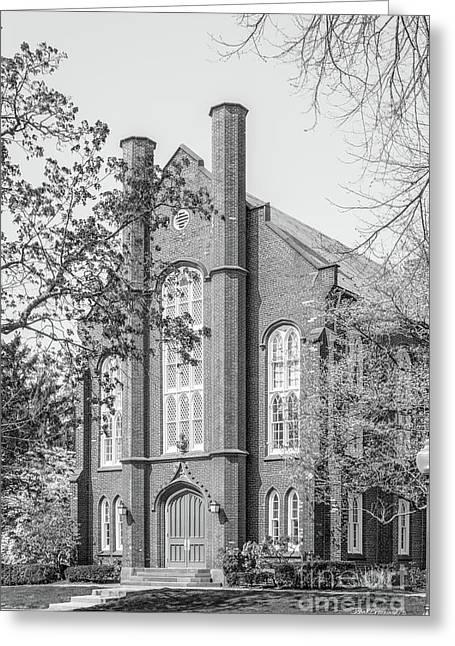 Franklin And Marshall College Goethian Hall Greeting Card by University Icons