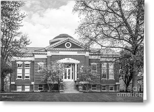 Franklin College Shirk Hall Greeting Card by University Icons