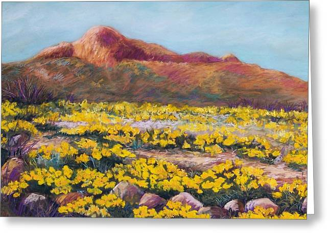 Spring Pastels Greeting Cards - Franklin Poppies Greeting Card by Candy Mayer