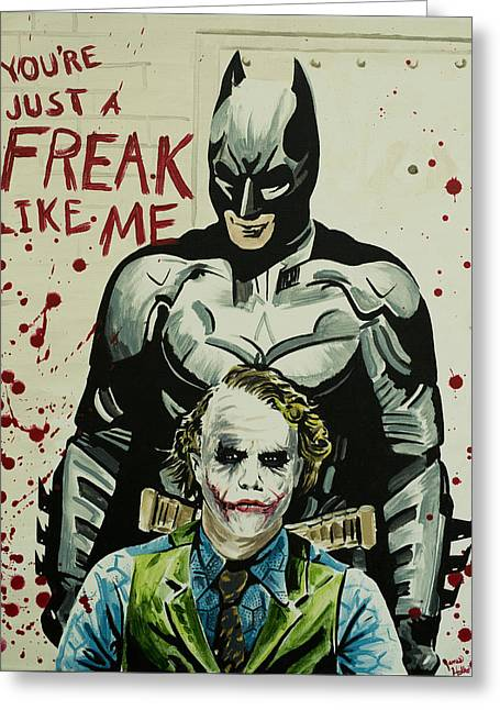 Freak Like Me Greeting Card by James Holko