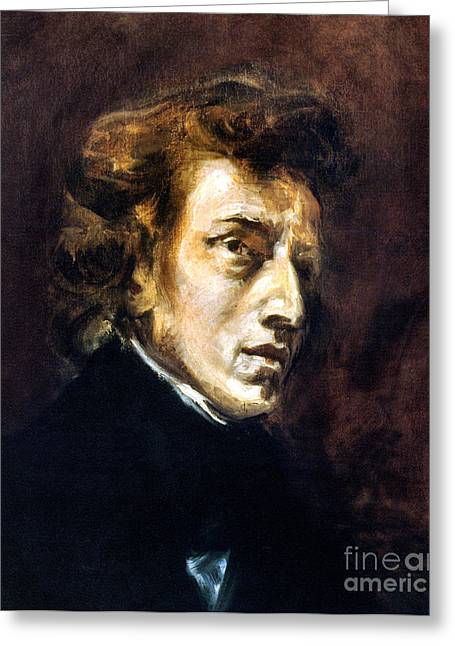 Pianist Photographs Greeting Cards - Frederic Chopin Greeting Card by Granger