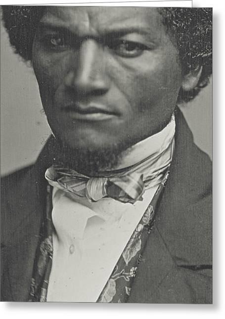 Frederick Douglass Greeting Card by American School