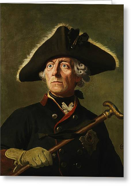 Frederick The Great Greeting Card by War Is Hell Store