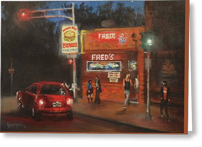 Fred's Greeting Card by Tom Shropshire