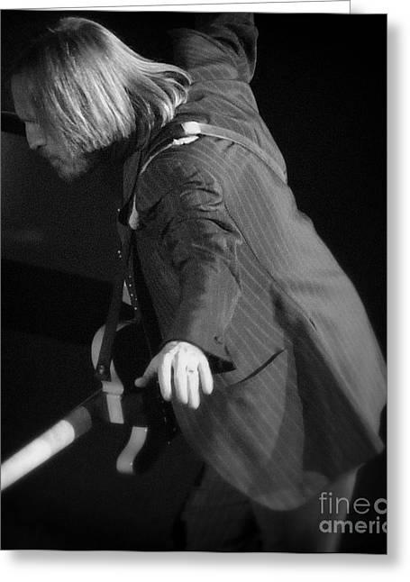 Free Fallin' - Tom Petty Greeting Card by J J  Everson