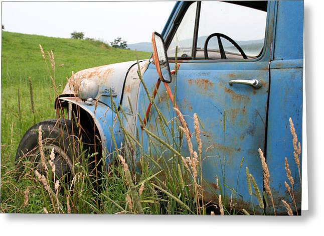 Free Parking Greeting Card by Doug Hockman Photography