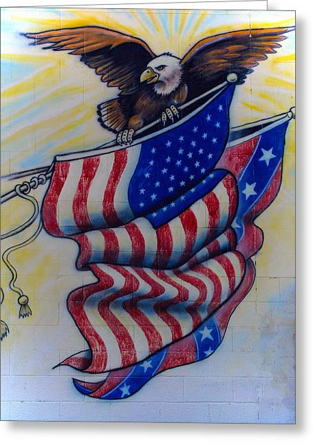 Freedom And Liberty Greeting Card by Tikvah's Hope
