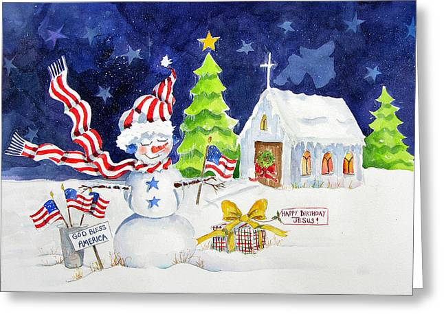 Freedom Of Religion Greeting Card by Suzy Pal Powell