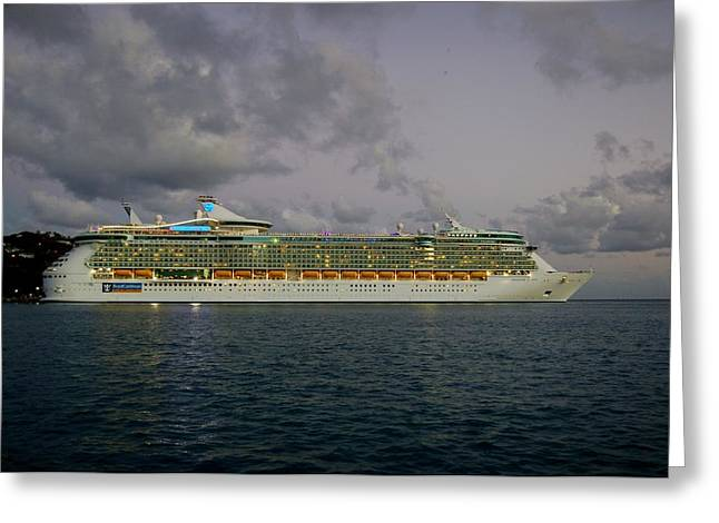 Charlotte Greeting Cards - Freedom of the Seas Greeting Card by Christopher James