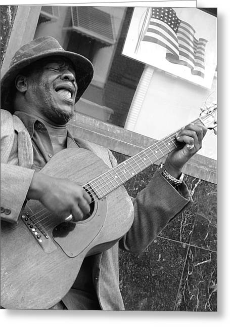 Civil Rights Greeting Cards - Freedom Song Greeting Card by John Smolinski