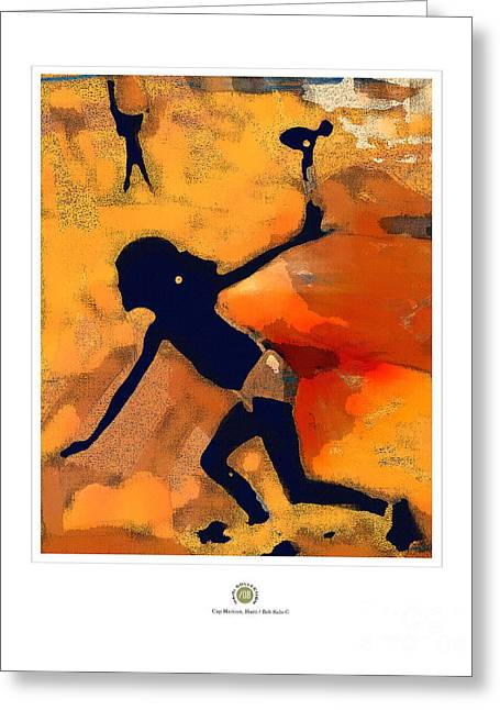 Haitian Mixed Media Greeting Cards - Freedom To Fly Greeting Card by Bob Salo