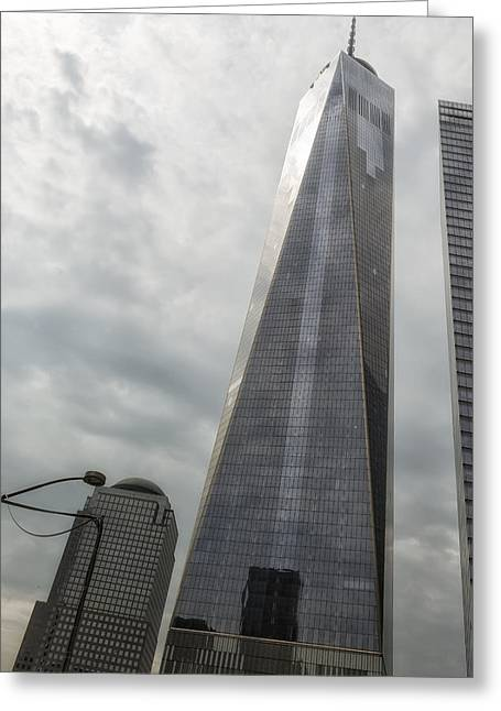 Wtc 11 Greeting Cards - Freedom Tower Greeting Card by Belinda Greb