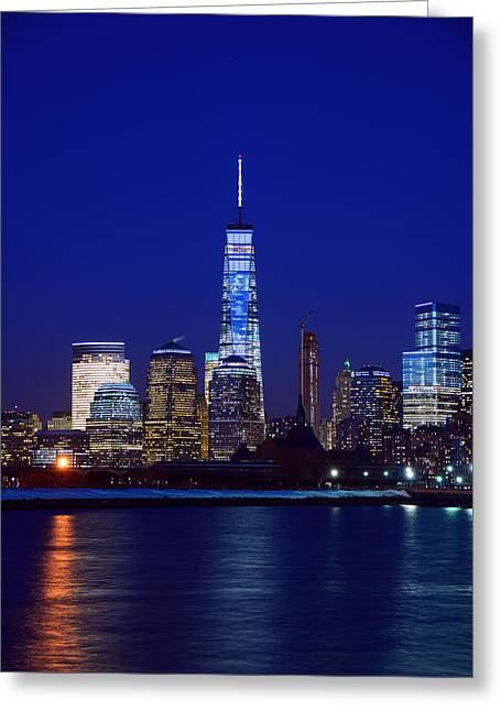 Division Greeting Cards - Freedom Tower Greeting Card by Raymond Salani III