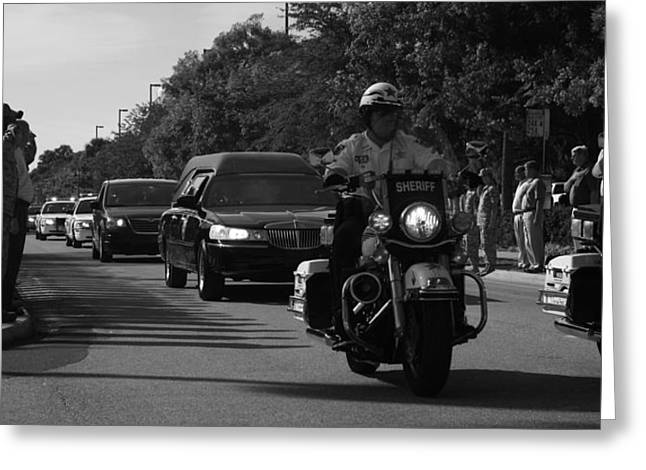 Law Enforcement Greeting Cards - Freedoms Price Greeting Card by Larry Underwood