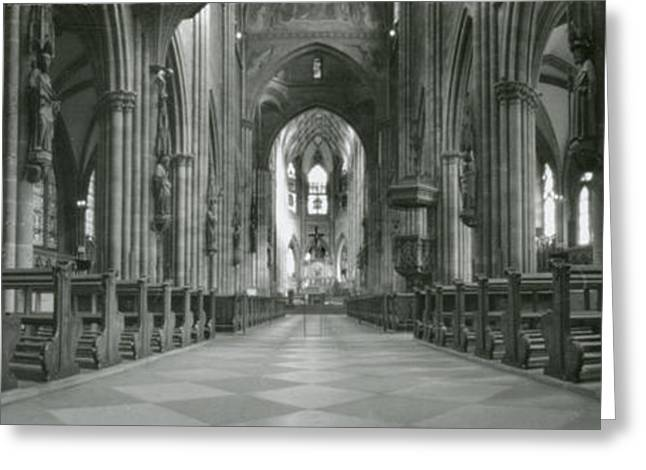 Loose Greeting Cards - Freiburg Cathedral  Greeting Card by Marcio Faustino
