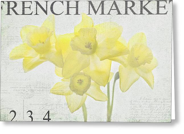 French Market Series C Greeting Card by Rebecca Cozart