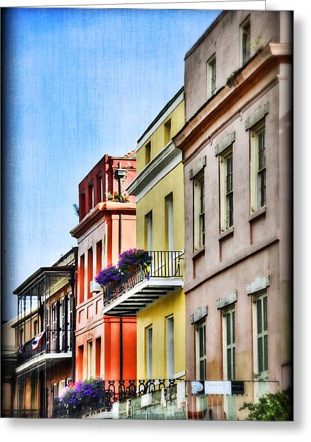 Nola Greeting Cards - French Quarter in Summer Greeting Card by Tammy Wetzel