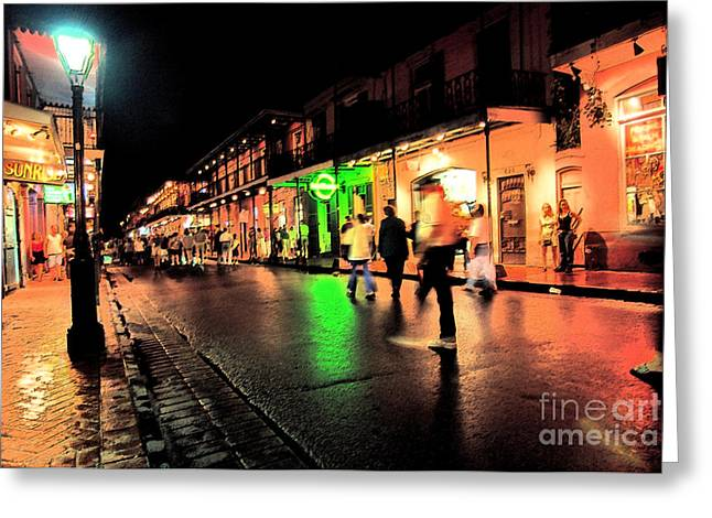 Revelry Greeting Cards - French Quarter New Orleans Greeting Card by Thomas R Fletcher