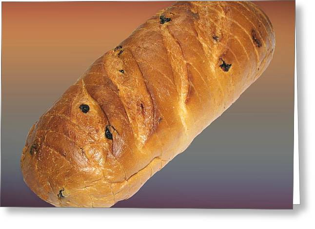 Fresh Food Drawings Greeting Cards - Fresh Baked Bread  Greeting Card by Movie Poster Prints