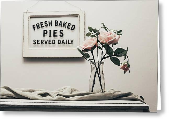 Fresh Baked Greeting Card by Kim Hojnacki
