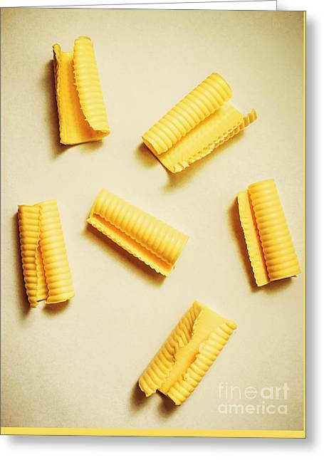 Fresh Butter Curls On Table Greeting Card by Jorgo Photography - Wall Art Gallery