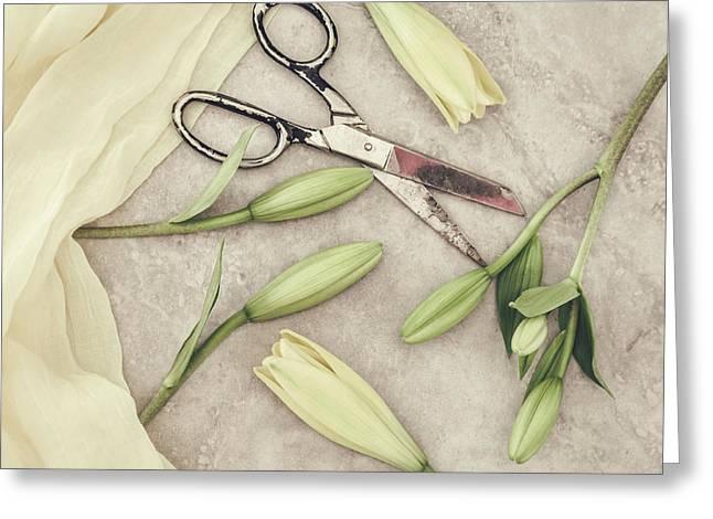 Fresh Cut Greeting Card by Kim Hojnacki