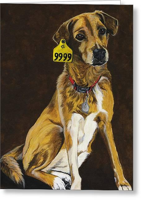 Animal Companion Greeting Cards - Friend or Food Greeting Card by Twyla Francois