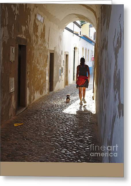 Tavira Greeting Cards - Friends Greeting Card by Angelo DeVal
