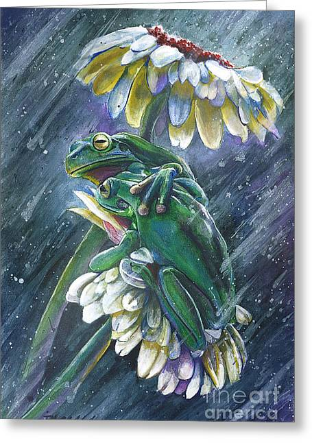 Friendship Greeting Card by Michael Volpicelli