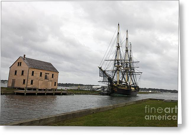 Masts Greeting Cards - Friendship of Salem Greeting Card by Jason O Watson
