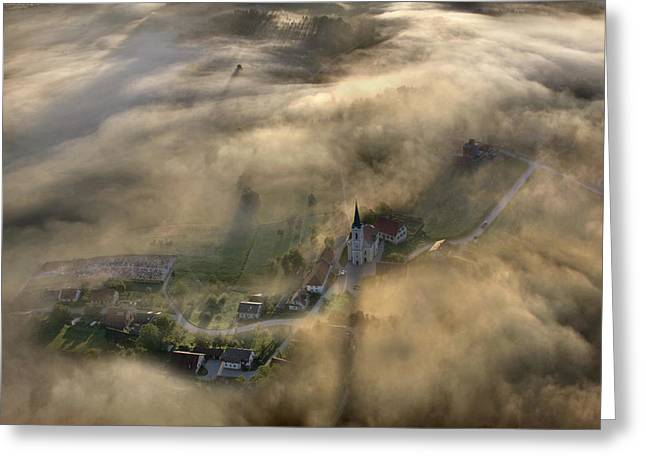 Fog Greeting Cards - From My Dreams Greeting Card by Matjaz Cater