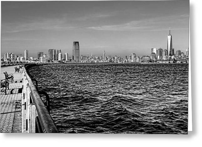 From New Jersey Greeting Card by Olivier Le Queinec