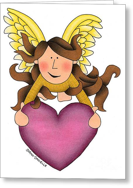 From The Heart Greeting Card by Sarah Batalka