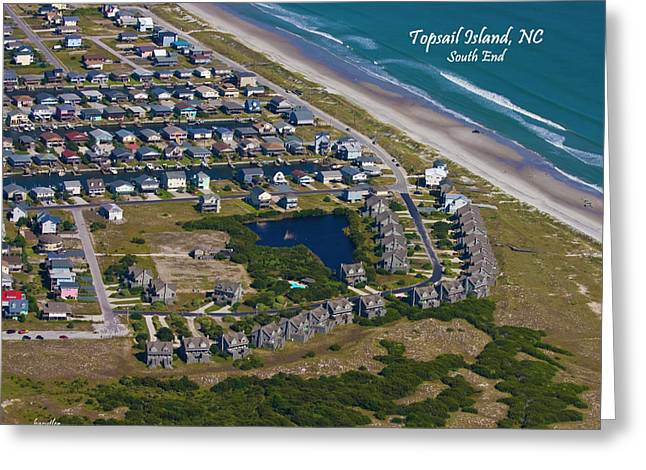 Topsail Island Greeting Cards - Front Line Greeting Card by Betsy C  Knapp