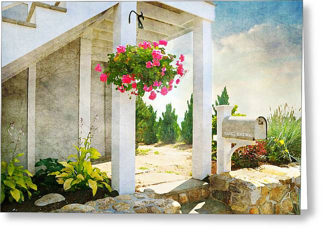 Front Porch Greeting Card by Diana Angstadt