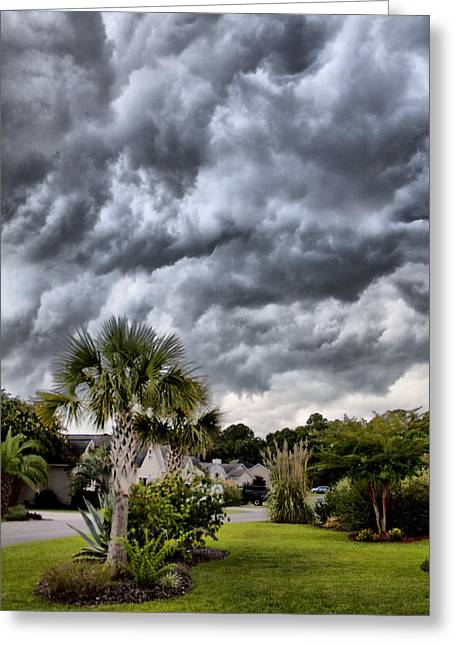 Frontal Clouds Greeting Card by Dustin K Ryan