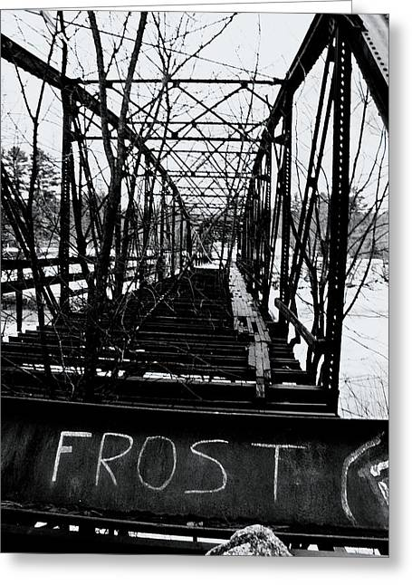 Concord Greeting Cards - Frost Concord New Hampshire Greeting Card by Tony  Westbrook